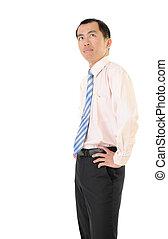 Confident executive
