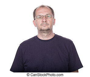 Confident handsome man