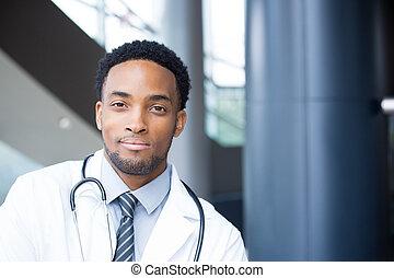 confident healthcare headshot - Closeup portrait head shot...