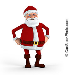 Confident Santa