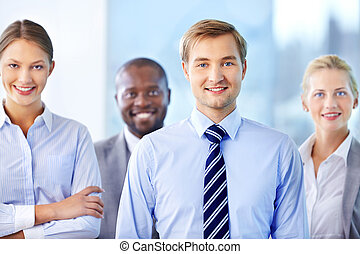 Confident team