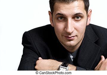 Confident young businessman - Portrait of confident young...