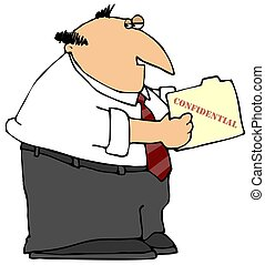 Confidential Folder