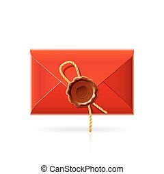 Confidential mail icon