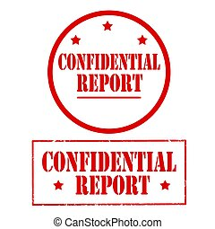 Confidential Report-stamps