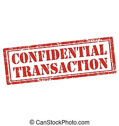 Confidential Transaction-stamp