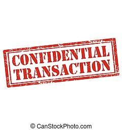 Confidential Transaction-stamp