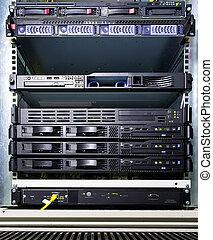 configuración, servidor