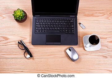 configurar, limpo, desktop