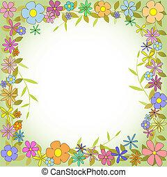 confine floreale