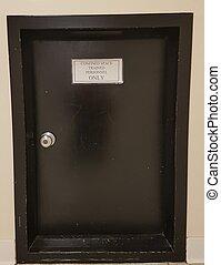 confined space door