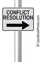 conflict, resolutie