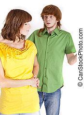 conflicto, en, relación