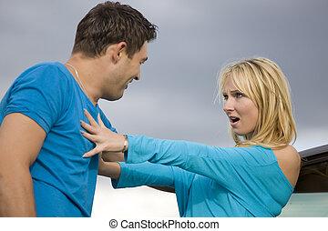 conflicto, relación