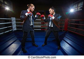 conflito, negócio