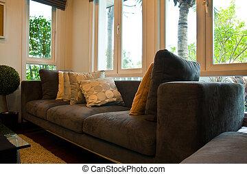 confortável, sofá