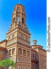 confortable, authentique, rues, catalan, spain., villes,...