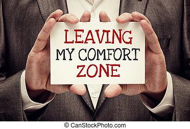 conforto, mio, zona, abbandono
