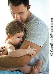 conforts, père, fils