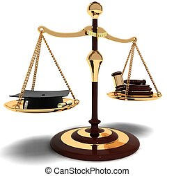 confront judges and lawyers, the eternal debate someone who...