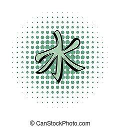 confucionismo, icono, cómicos