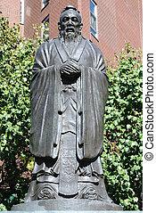confucius, estatua