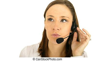 Confused Customer Representative