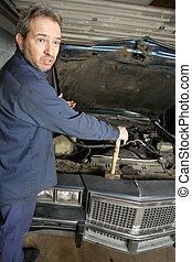 Confused mechanic