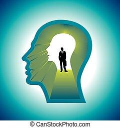 Confused Mind The businessman