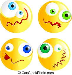 confused smilies