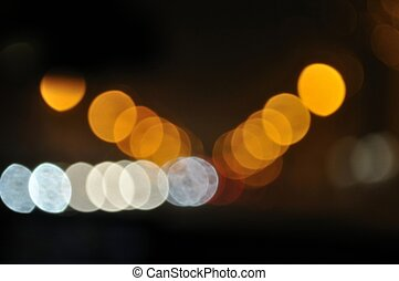 confuso, luces de neón