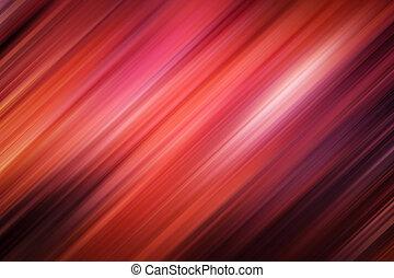 confuso, otoño, ardiente, fondo rojo