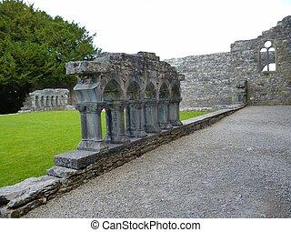 Cong Abbey at Ashford, Co. Mayo