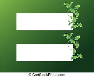 congedi verdi, bandiera