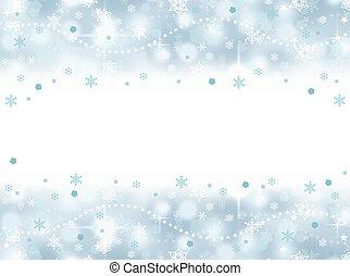 congelato, aqua blu, festa, fondo