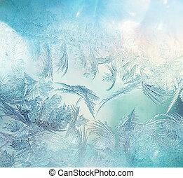 congelato, finestra