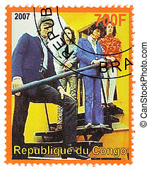 CONGO - CIRCA 2007 : Stamp printed in Congo shows Dooors...
