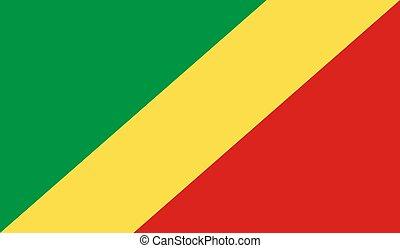 Congo, Republic of the Flag