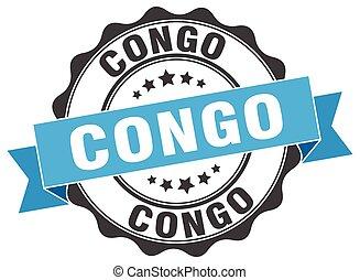Congo round ribbon seal