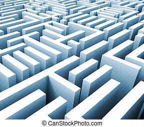 congrès, justice, politique, illustration, obstruction, signification, entraver, politique, labyrinthe, cas, ou, 3d