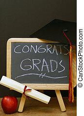 congrats, へ, すべて, 卒業生