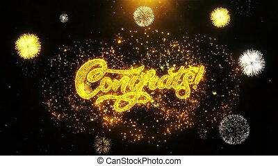 Congrats Wishes Greetings card, Invitation, Celebration...