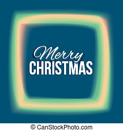 Congratulation to Christmas with lights frame