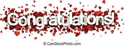 Congratulations 3d sign.