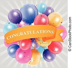 Congratulations celebration