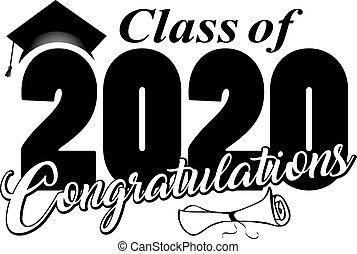Congratulations Class of 2020 Graphic