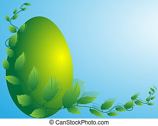 Congratulatory Easter background