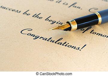 congratulazione