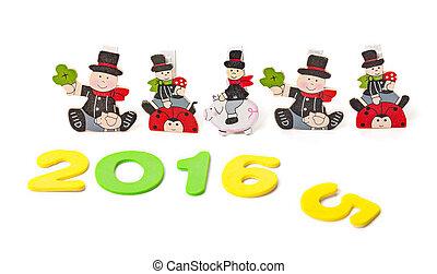 congratulazioni, a, il, anno nuovo