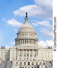 congreso, colina, capitolio